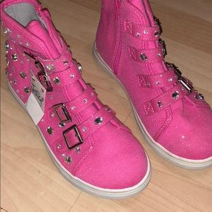 Pink Justice Shoes - Girls